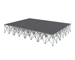 12sqm modular stage by Intellistage Australia