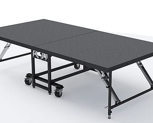 New mobile folding stages