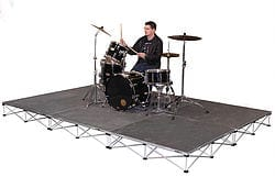 Mobile drum stage