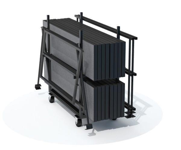choral riser transport