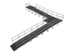 wheelchair stage ramp