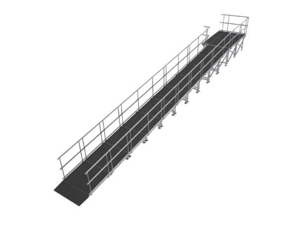 straight ramp