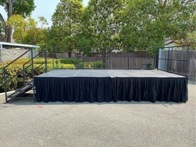 Staging 101 Outdoor stage